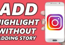 how-to-add-highlights-on-instagram-without-posting